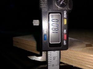 Фанера ФК 18 мм