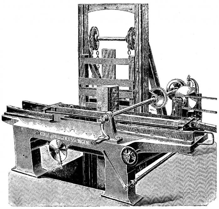 Станок для производства фанеры